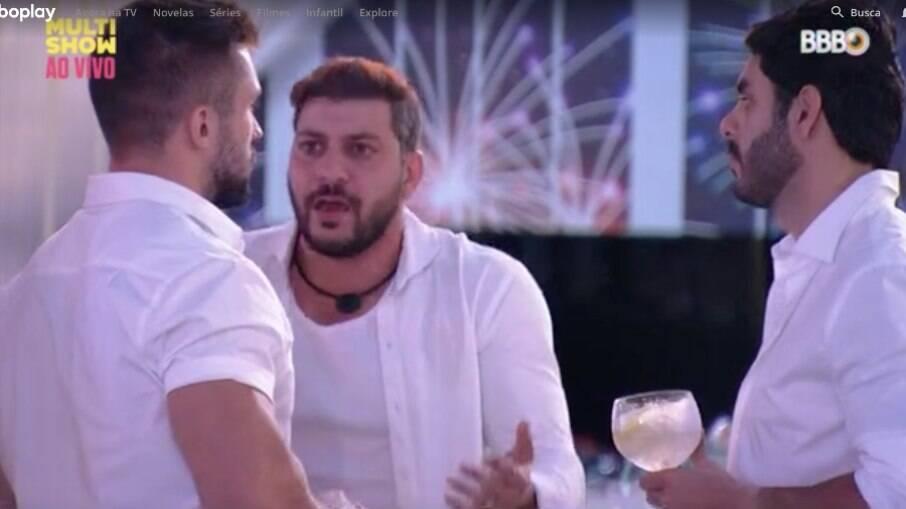 BBB 21: Caio e Rodolffo