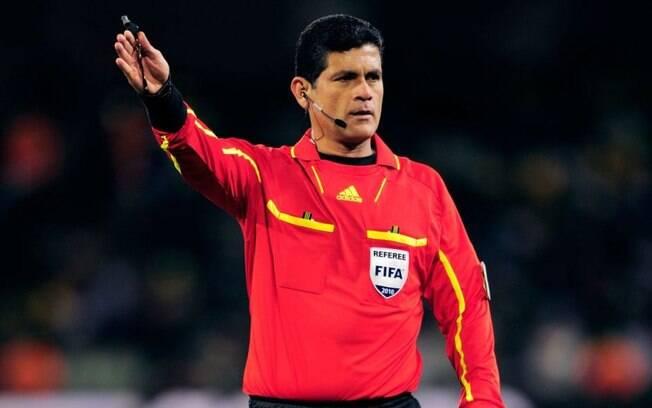 Óscar Ruiz foi árbitro em três Copas do Mundo