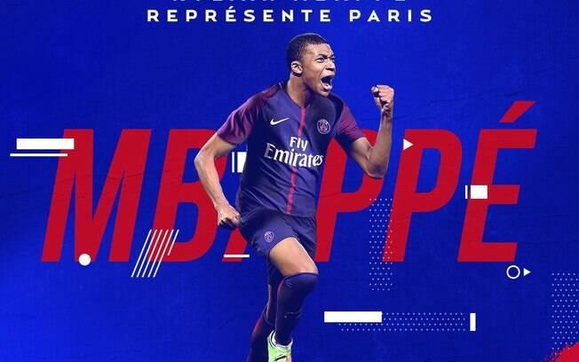 O jovem Kylian Mbappé deixou o Monaco para jogar no Paris Saint-Germain e ser parceiro de Neymar