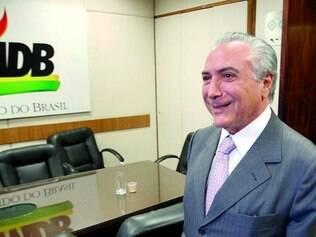 Confiança. Após desencontro na Câmara, o vice-presidente Michel Temer disse que o PMDB é governo