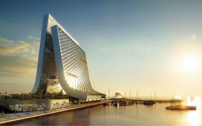A marina e as torres localizadas nos Emirados Árabes tem conclusão prevista para 2012
