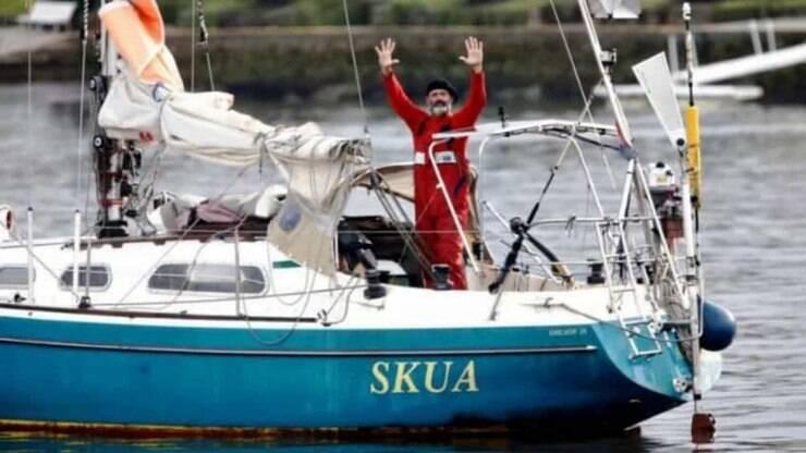 Sem voos, homem navega de Portugal para Argentina em 85 dias