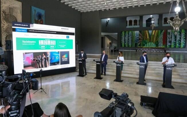 AO VIVO - Doria anuncia novas medidas restritivas em live