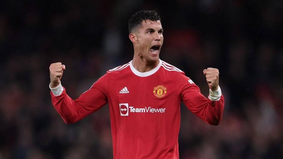 Cristiano Ronaldo vem brilhando com a camisa do Manchester