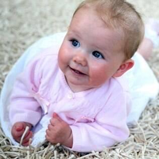 Scarlett: ela viveu 4 meses sem o diagnóstico de problema fatal para a maioria dos bebês