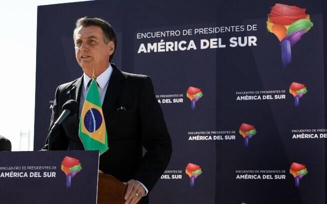 Bolsonaro desmentiu críticas feitas por adversários políticos quanto às suas posições discriminatórias sobre minorias