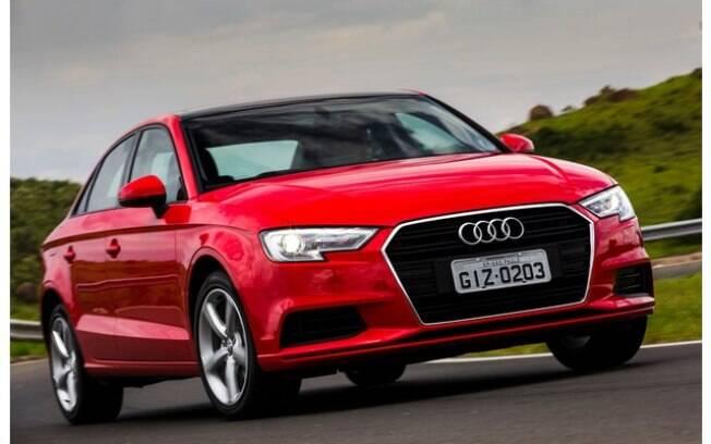 Audi A3 Sedan é o único modelo da marca com produção nacional