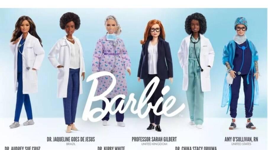Linha de Barbies inspirada em cientistas