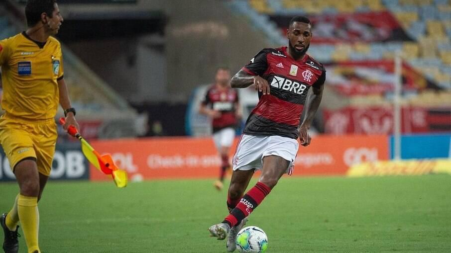 Gerson, do Flamengo, é sondado por clube francês