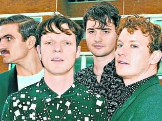 Promessa. O quinteto britânico Citizens! deve tocar músicas inéditas do seu segundo disco, ainda sem data de lançamento