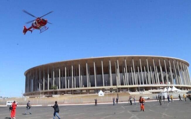 Torneio deve acontecer no estádio Mané Garrincha, em Brasília