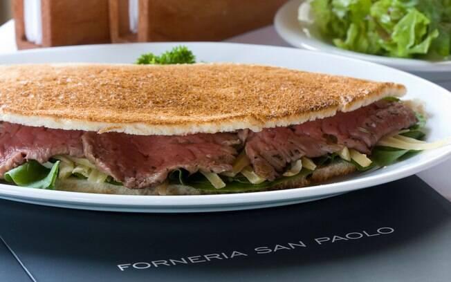 Foto da receita Panini Alla Roma pronta.