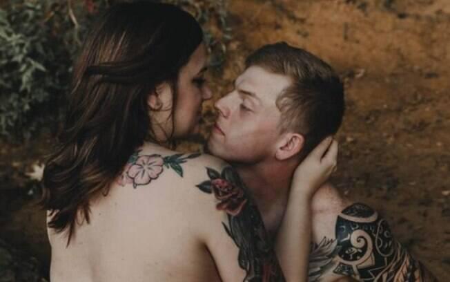 O casal está fazendo sucesso por mostrar como é um amor verdadeiro