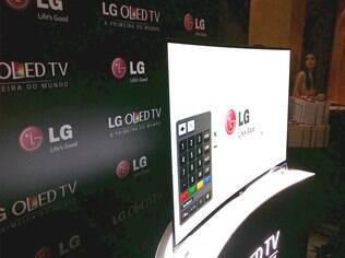 TV OLED da LG tem tela de 55 polegadas e resolução Full HD