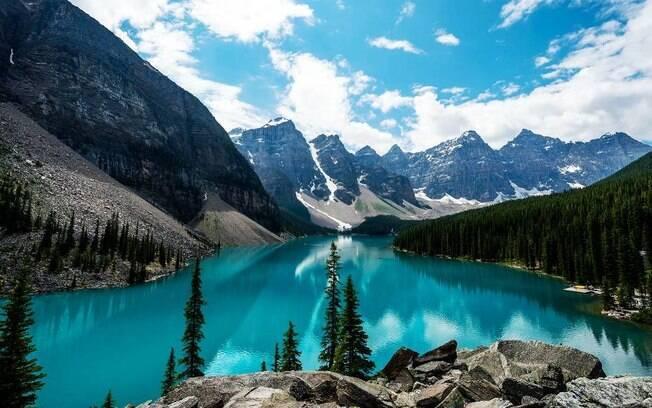 Banff é uma das regiões canadenses que encantam pelas belezas naturais