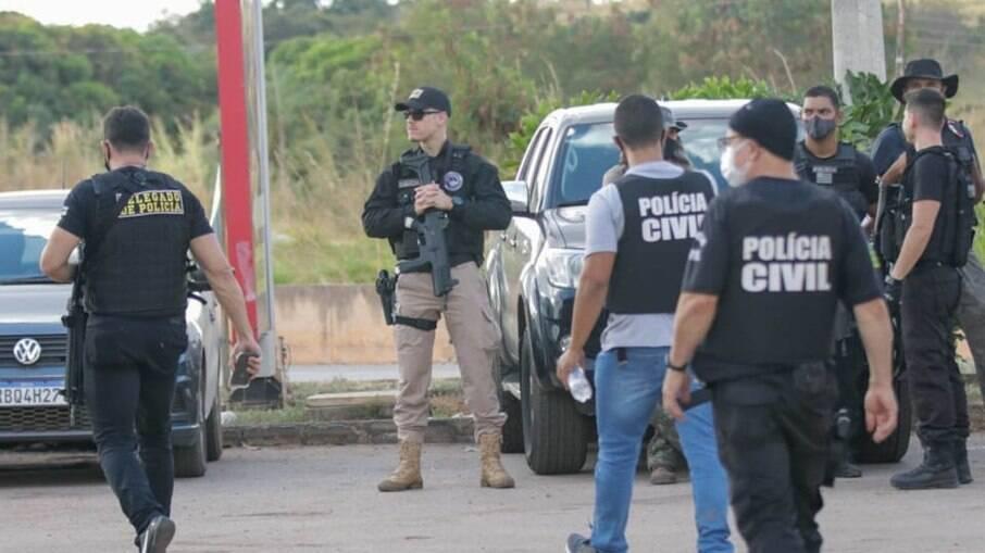 Policiais seguem em busca de Lázaro Barbosa