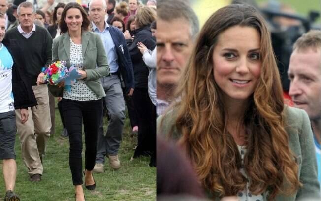 A duquesa de Cambridge deu à luz príncipe George no dia 22 de julho
