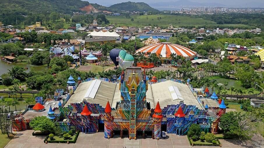 O Beto Carrero World fica em Santa Cataria e é o maior parque da América Latina