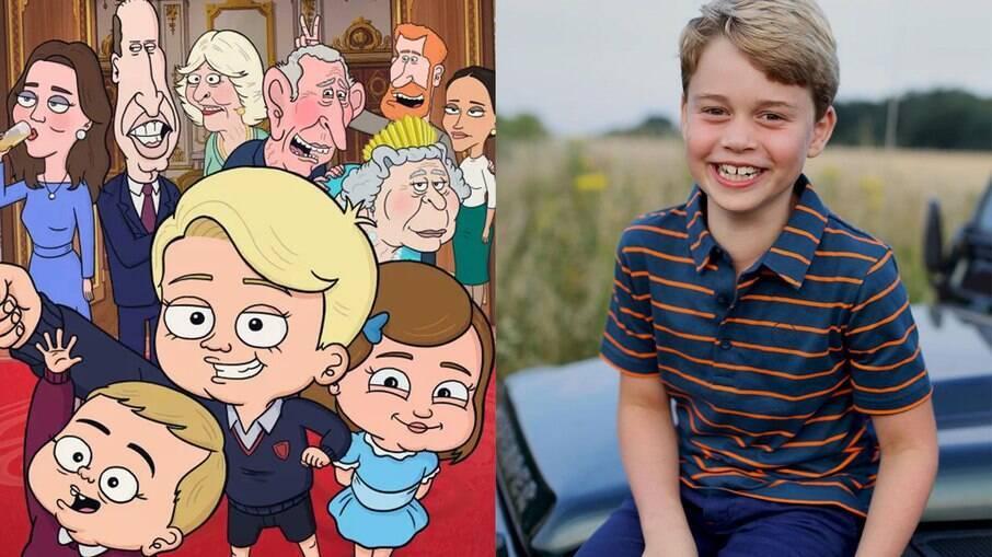 Série sobre família real é criticada por fazer piada com Príncipe George