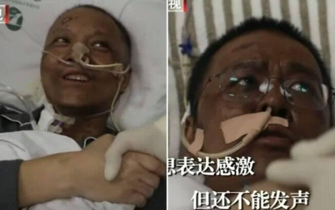 Yi Fan e Hu Weifeng, ambos de 42 anos, foram diagnosticados com coronavírus em 18 de janeiro