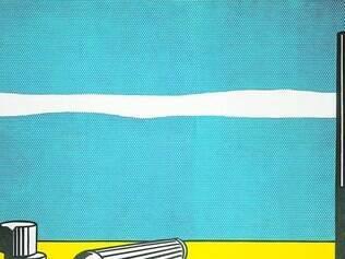 """Pop Art. Paixão de Ludwig, o movimento vem representado por obras como """"Ruínas"""", de Roy Liechtenstein"""