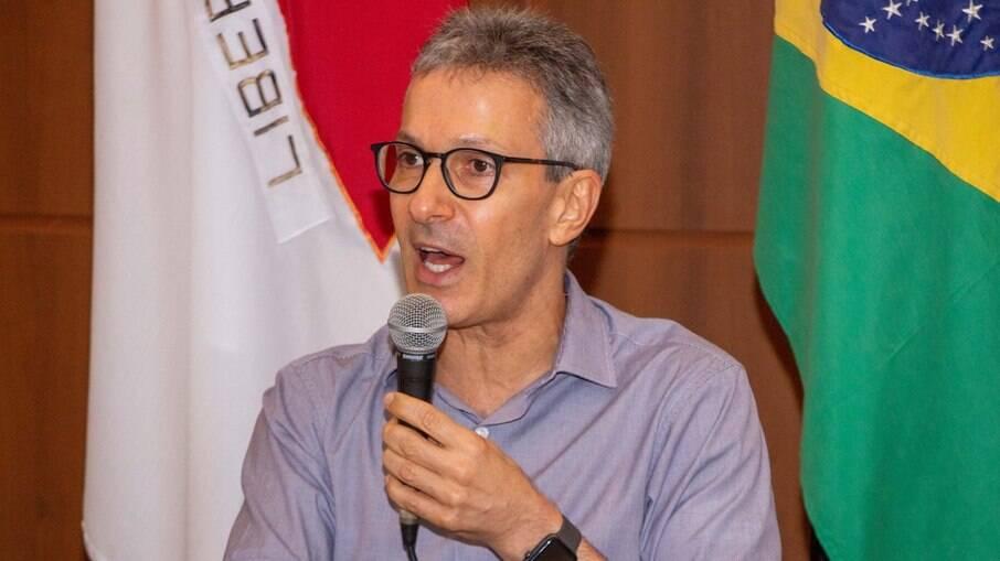 Governador de Minas Gerais Romeu Zema (Novo)