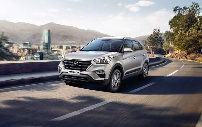Hyundai Creta e HB20 1 Million: a marca será atingida nas próximas semanas, na fábrica de Piracicaba (SP)