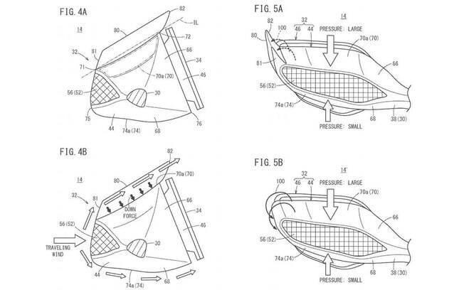 Mais fotos do que foi registrado no site de patentes U.S Patent Office (EUA)