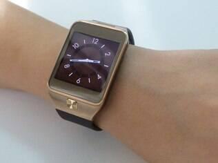 Samsung está investindo forte em dispositivos vestíveis. Na foto, o Galaxy Gear 2, relógio inteligente da marca