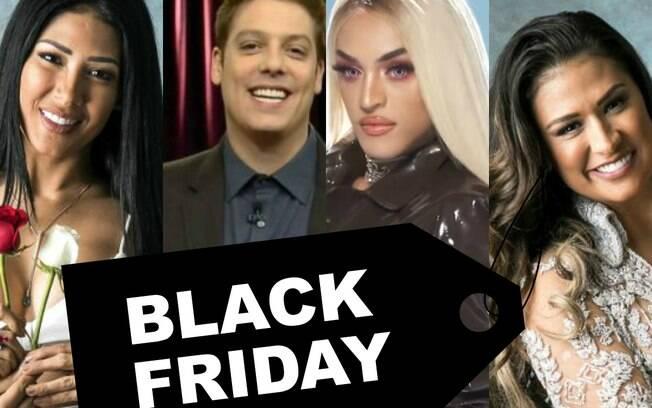 Black Friday dos famosos, veja as celebs em promoção
