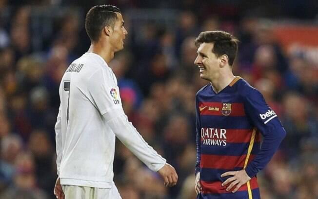 Barcelona e Real Madrid se enfrentam sem Messi e CR7