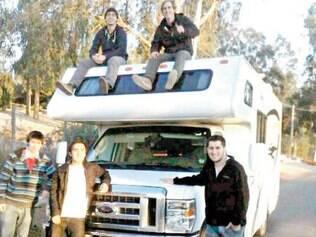 Torcida. Valdivia, xará do craque chileno, organizou uma caravana com 20 motorhomes, eles reservaram R$ 50 por pessoa para pagar estacionamento dos veículos