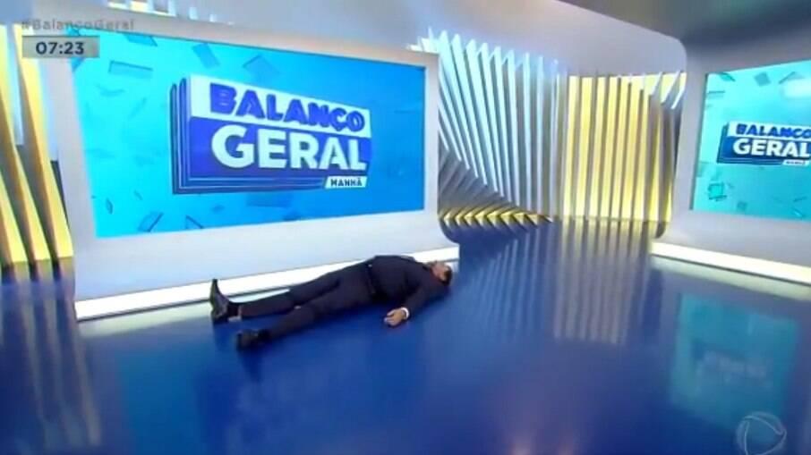 Geraldo Luís no Balanço Geral