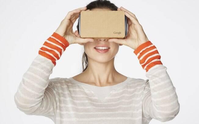Google anunciou suporte ao Cardboard para iOS. Em breve, o aplicativo deve ser lançado. Foto: Divulgação