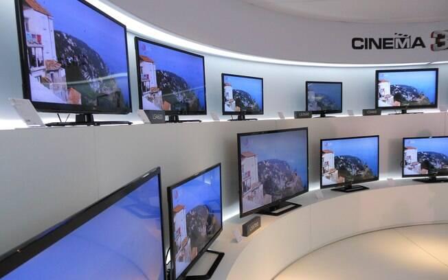 Nova linha de TVs da LG terá suporte a 3D na maioria dos modelos