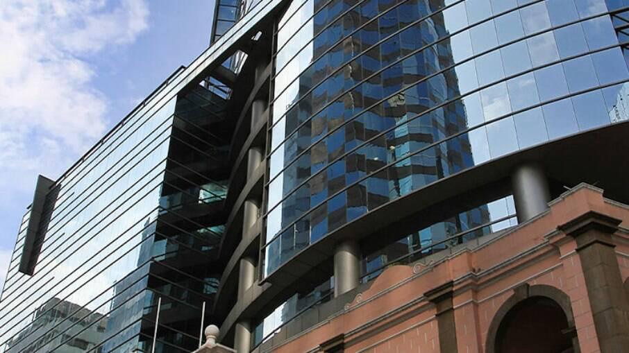 A sede do Banco Central