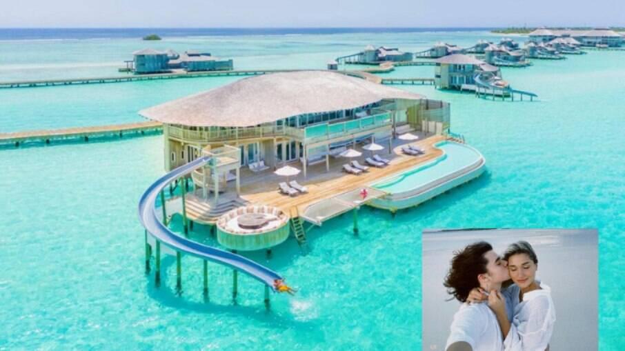 Conheça o resort de luxo em que Sasha Meneghel está hospedada para sua lua de mel