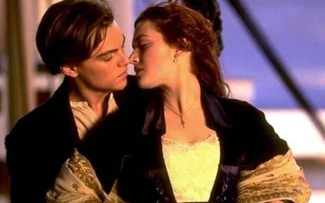 Leonardo DiCaprio e Kate Winslet no filme
