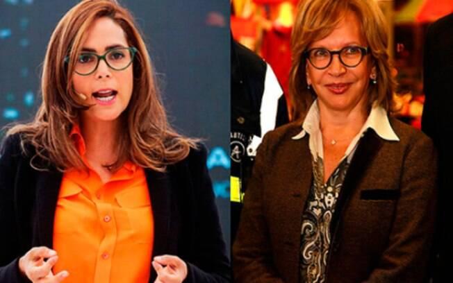 Casal assumido: as ministras colombianas Gina Parody e Cecília Alvarez Correa