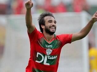 Gabriel Xavier foi um dos únicos destaques da fraca campanha da Portuguesa na Série B de 2014