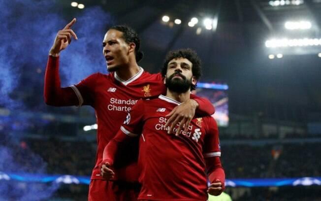 Van Dijk foi eleito melhor jogador da Premier League. Salah é o sétimo do ranking
