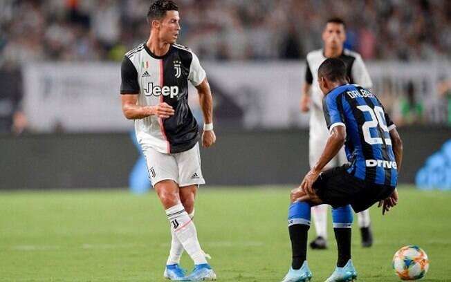 Juventus x Inter de Milão foi adiado pelo coronavírus