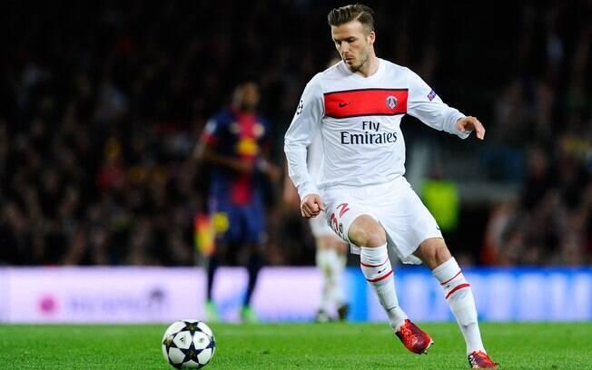 Beckham defendeu o PSG diante do Barcelona na  Liga dos Campeões nesta temporada