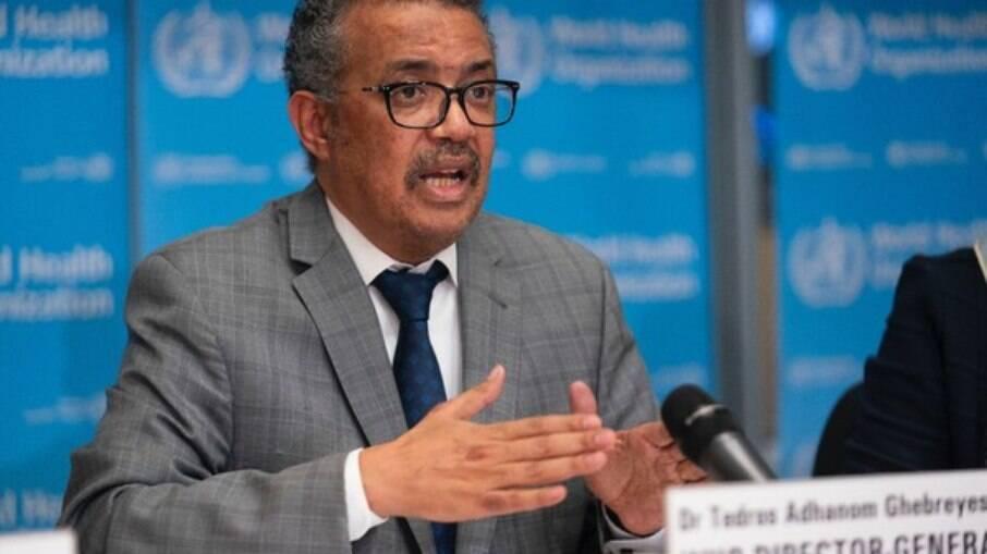 Tedros Adhanom, diretor da Organização Mundial da Saúde (OMS)