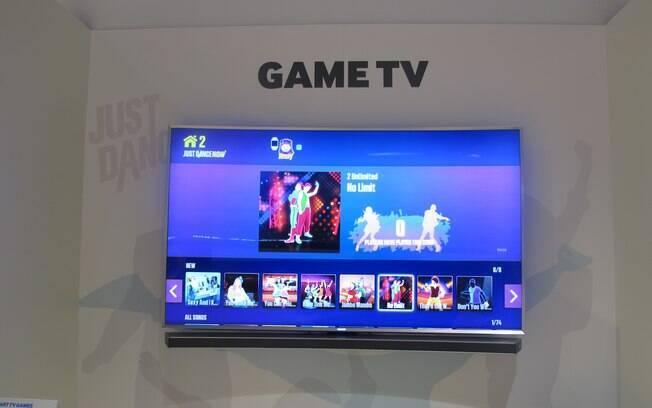 Just Dance é um dos jogos populares disponíveis no Tizen. Foto: Emily Canto Nunes/iG São Paulo