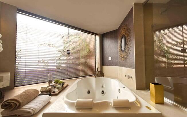 Ideias para renovar o banheiro  Arquitetura  iG -> Banheiro Com Banheira Individual