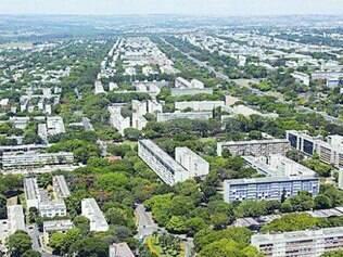 Todos os apartamentos do Senado ficam em áreas nobres de Brasília