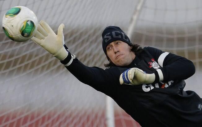 Cassio treina no Japão antes da estreia no  Mundial
