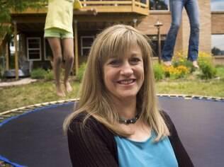 Lynn Schofield Clark ficou aliviada ao perceber a confiança da filha: