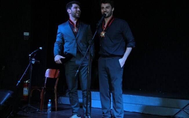 Conrado Helt e Hugo Bonemer